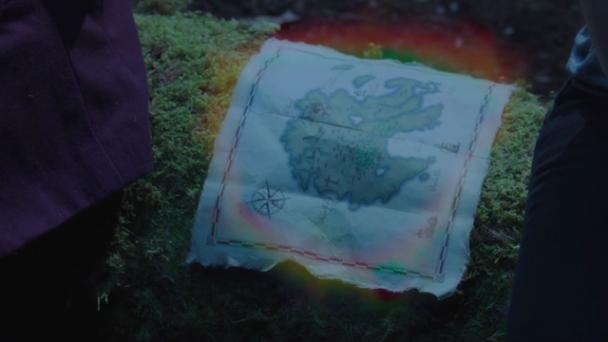Un misterioso mapa