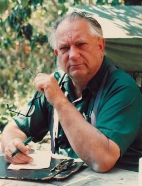 Jack Vance escritor de Trilogía de Lyonesse editada por Gigamesh