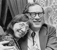Asimov y Janet, su segunda esposa
