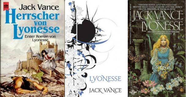Jardín de Suldrun (Suldrun's Garden) de Trilogía Lyonesse, del autor Jack Vance, otras portadas