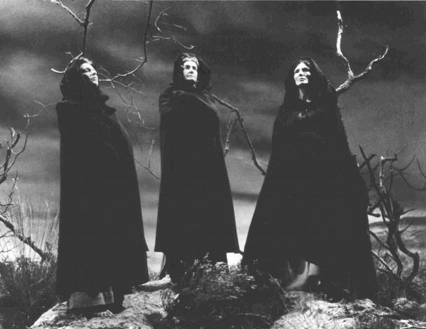 Las brujas de Macbeth según Orson Welles.