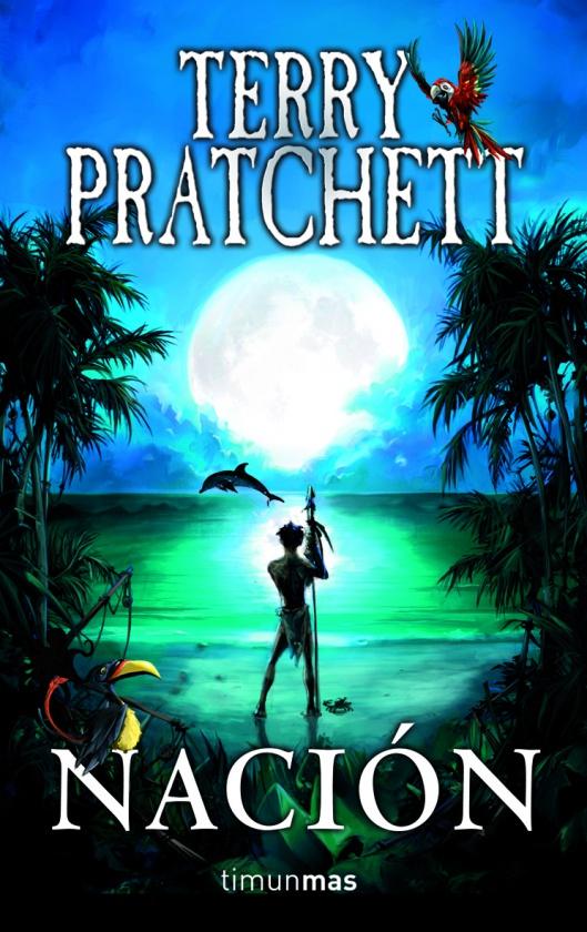 Portada Nación de Terry Pratchett en Timun Mas