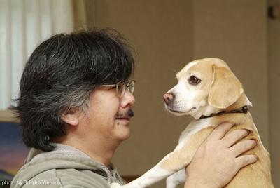 nobuo-uematsu-con-su-perro