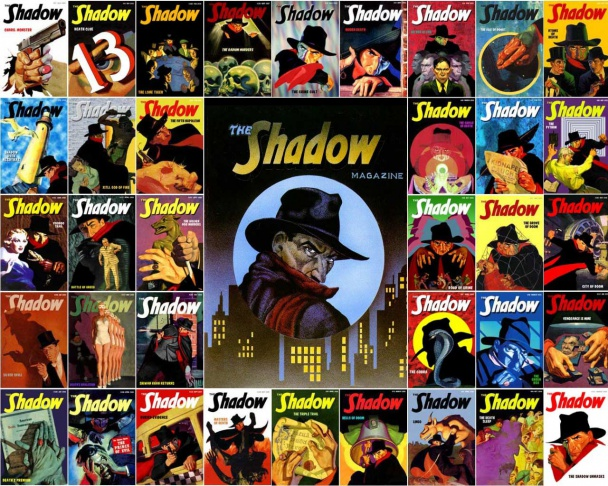 "Portadas de ""The Shadow"""