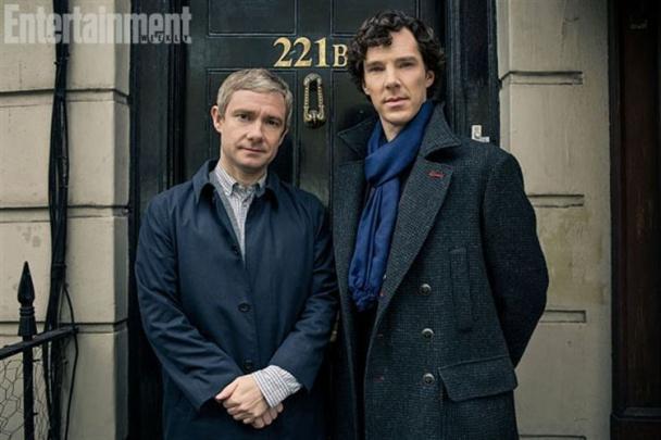 Sherlock y Watson imagen tercera temporada