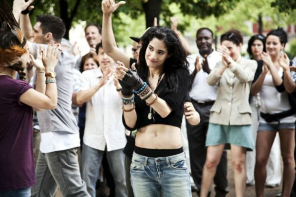 La actriz Sofia Boutella en la película Street Dance 2