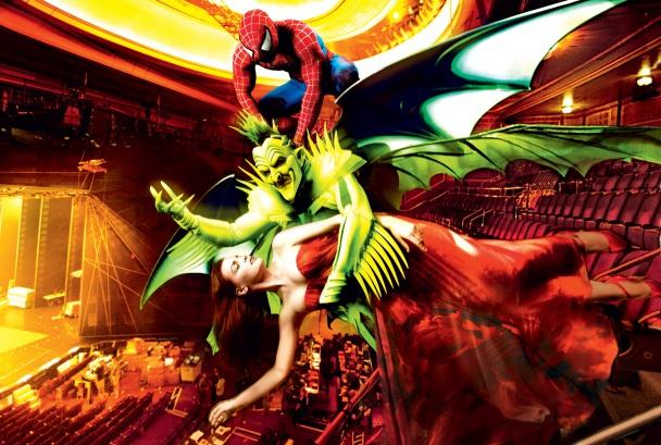 Spiderman lucha contra el Duende Verde