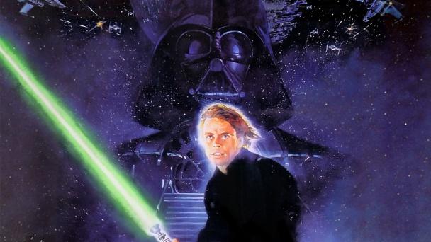 star-wars-episodio-VI-el-retorno-del-jedi-luke-y-darth-al-fondo-poster