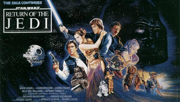 star wars episodio VI el retorno del jedi poster