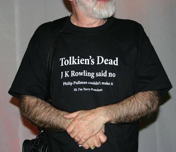 Tery Pratchett Camiseta