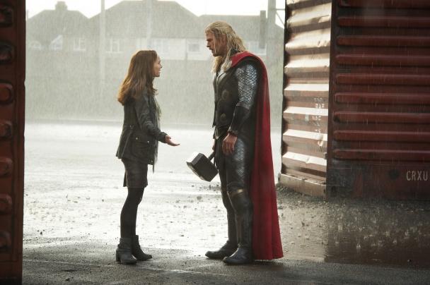 Thor: El mundo oscuro - Chris Hemsworth y Natalie Portman