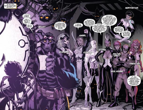 El que promete ser el grupo de Amazing X-Men