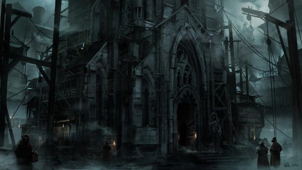 Arte Conceptual de Thief - Catedral en Ruinas
