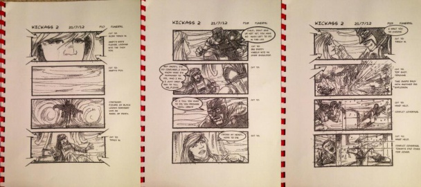 Storyboard de Big Daddy