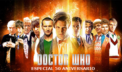 Doctor Who 50 aniversario