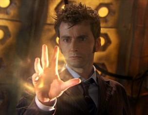 Décimo Doctor regenerándose