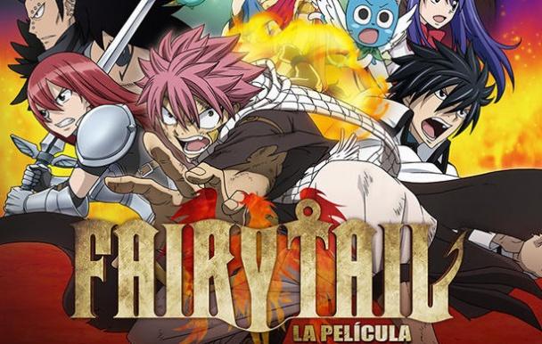 Fairy Tail La Pelicula La Sacerdotiza Del Fenix baner