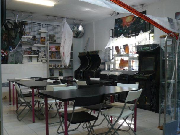 Zona lúdica con arcade
