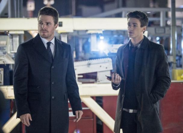 Grant Gustin Flash y Arrow