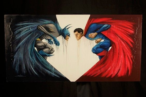 Imagen 3 arte Batman vs Superman