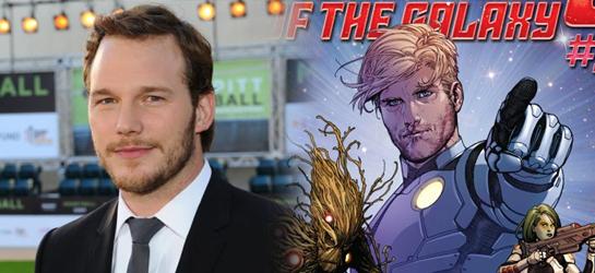 Imagen Chris Pratt Star Lord Guardianes de la Galaxia