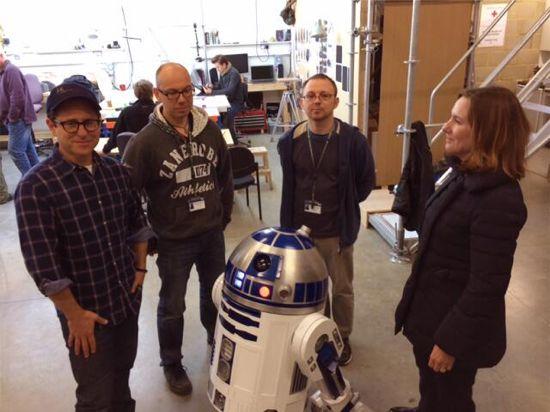 Imagen Episodio VII Star Wars R2D2