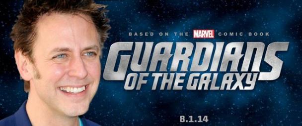 Imagen James Gunn Guardianes de la Galaxia