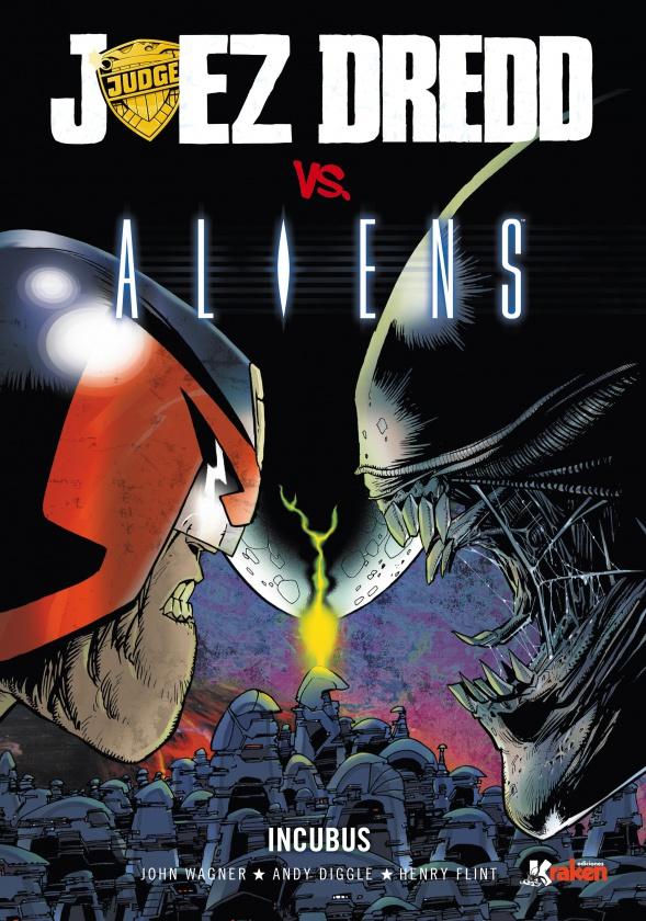 Juez Dredd vs Aliens portada