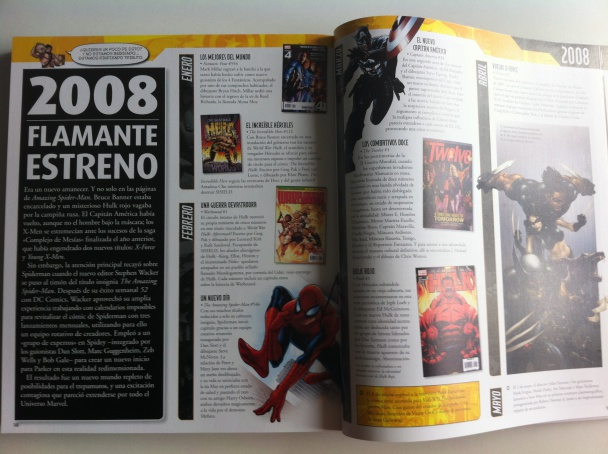Marvel Guía Definitiva 2008