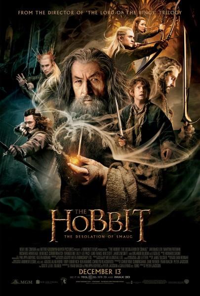 Póster El Hobbit La Desolación de Smaug