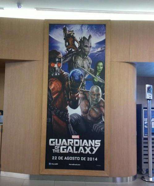 Póster Guardianes de la Galaxia