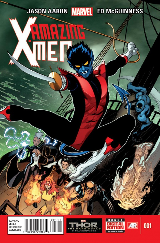Portada de Amazing X-Men #1