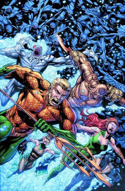 Portada de Aquaman #25