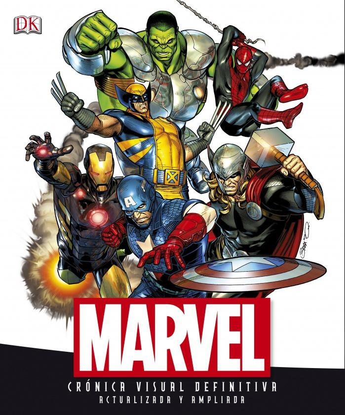 Portada de Marvel Guía Visual Definitiva