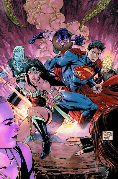 Portada de Superman - Wonder Woman #2