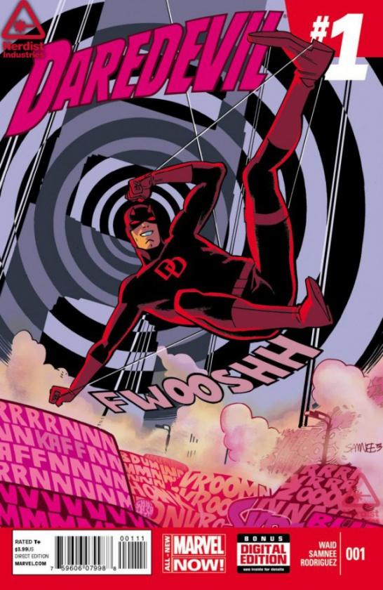 Portada relanzamiento Daredevil