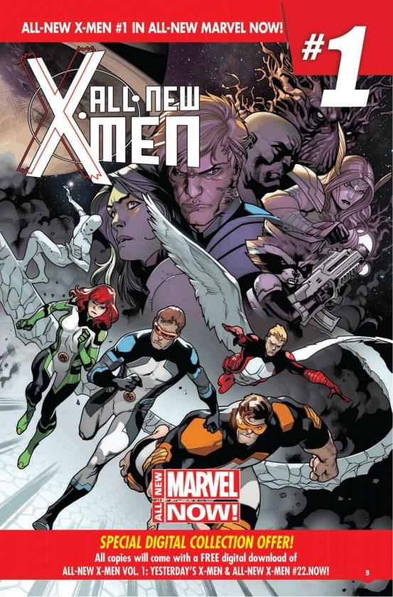 Página de la Marvel Previews