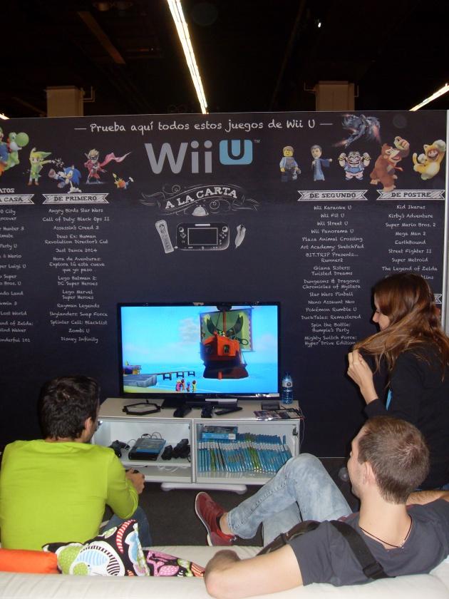 Wii U a la carta