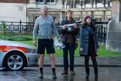 Erik, Darcy e Ian, el trío risitas