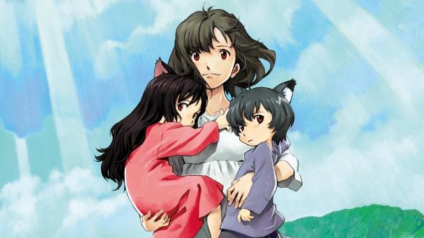 Wolf Children reseña niños lobo
