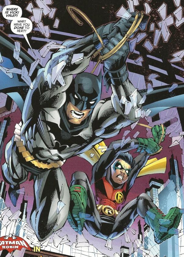 Batman y Robin, por Scott McDaniel