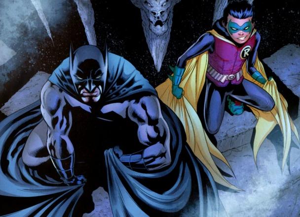 Batman y Robin, por Patrick Gleason