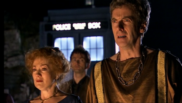Peter Capaldi en The Fires of Pompeii