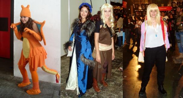 Cosplay de Charizard de Pokémon, Lyanna Stark y Daenerys Targaryen y Howl de El Castillo