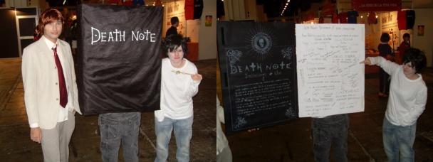Gran Cosplay de la Death Note
