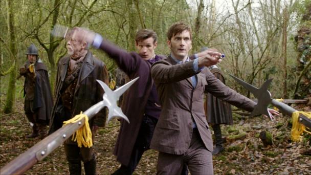 Los 3 doctores en acción