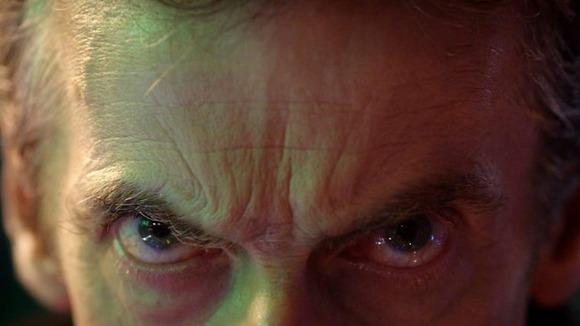 Peter Capaldi en su cameo en el 50 aniversario