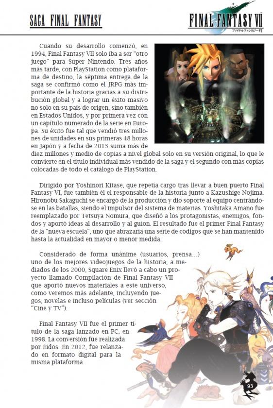 fianl fantasy página