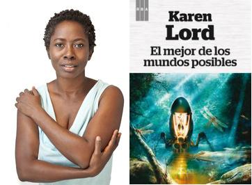 El Mejor de los Mundos Posibles de Karen Lord con portada de Alejandro Colucci para RBA Fantástica
