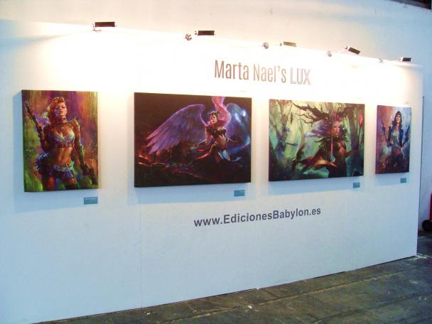 Exposición: Marta Nael's Lux, por Ediciones Babylon